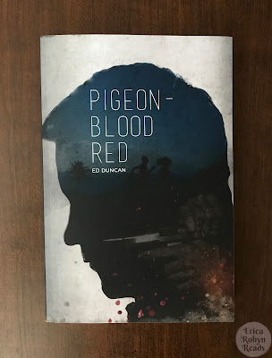 Pigeon-Blood Red by Ed Duncan book cover photo