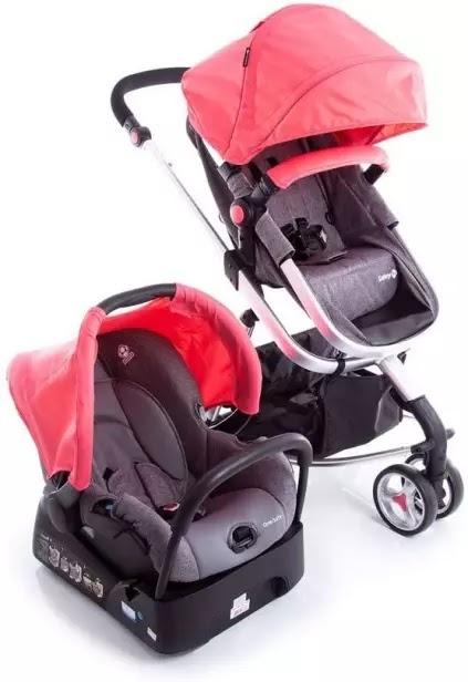Carrinho de Bebê Travel System Mobi - Safety 1st