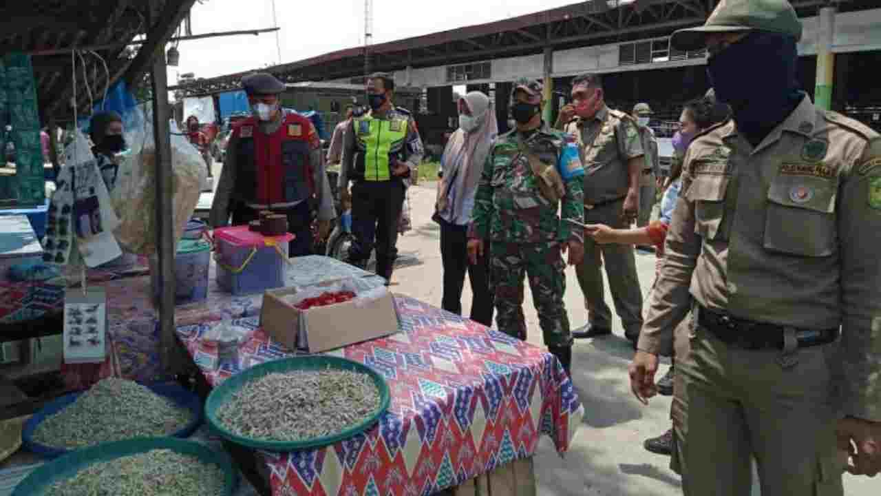 Tim Satgas Covid-19 Kota Medan Tetap Laksanakan Patroli Prokes dan Pengawasan PPKM