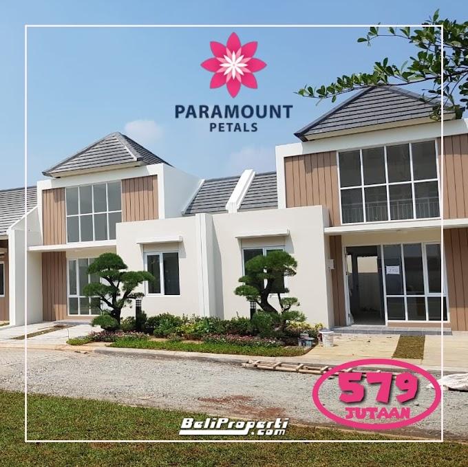 Paramount Petals Launching Perdana Cluster Aster Rumah 600 Jutaan