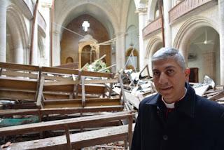 إعادة بناء كاتدرائية قُصفت في سوريا