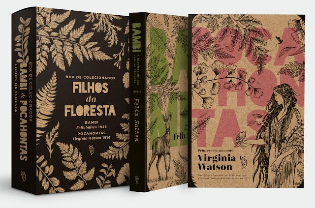 Coleção Filhos da Floresta Editora Wish