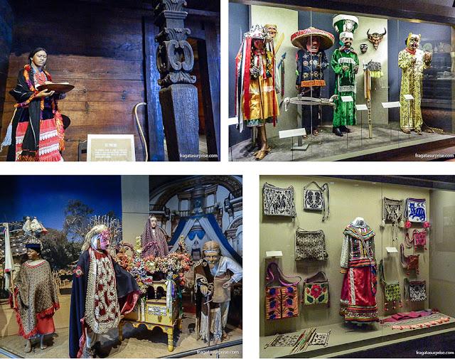 Trajes, rituais religiosos e cenas cotidianas das comunidades tradicionais do México atual na Sessão de Etnografia do Museu Nacional de Antropologia do México