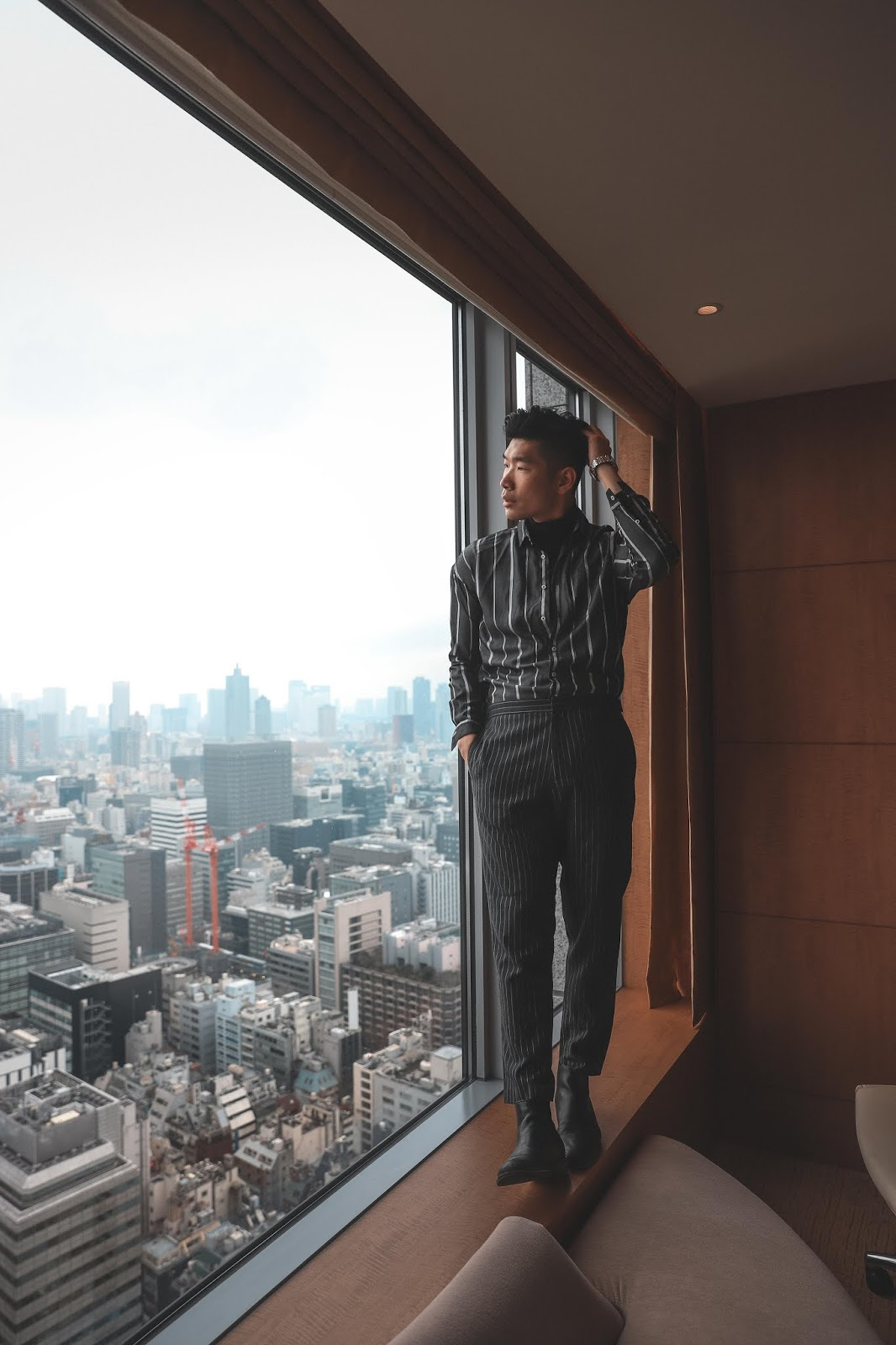 Leo Chan room view at Shangri-La Tokyo