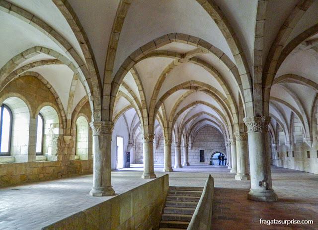 Dormitório do Abade no Mosteiro de Alcobaça