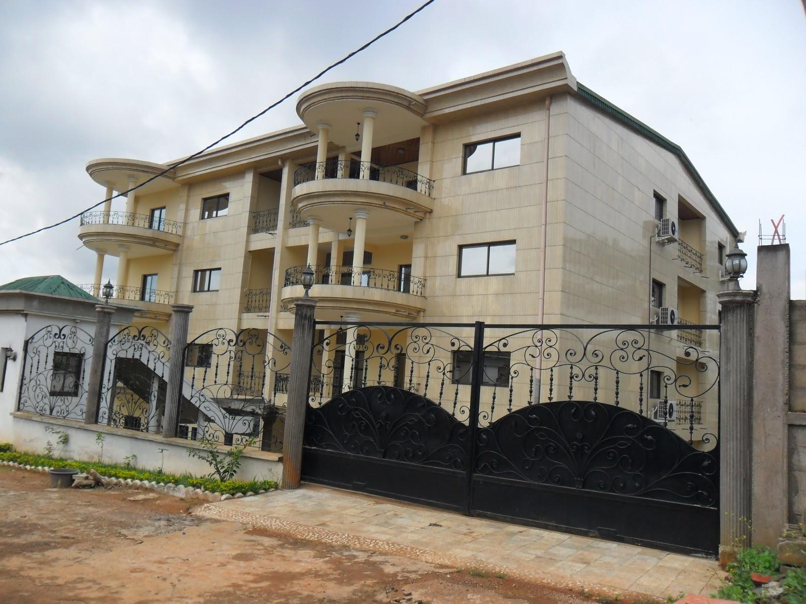 Les plus belles maisons du cameroun 9 location appart quartier golf