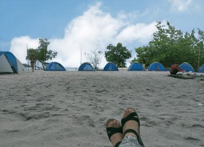 Tenda Pantai Vio Vio Cantik