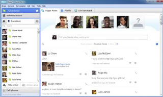 Download New version of Skype for video calls
