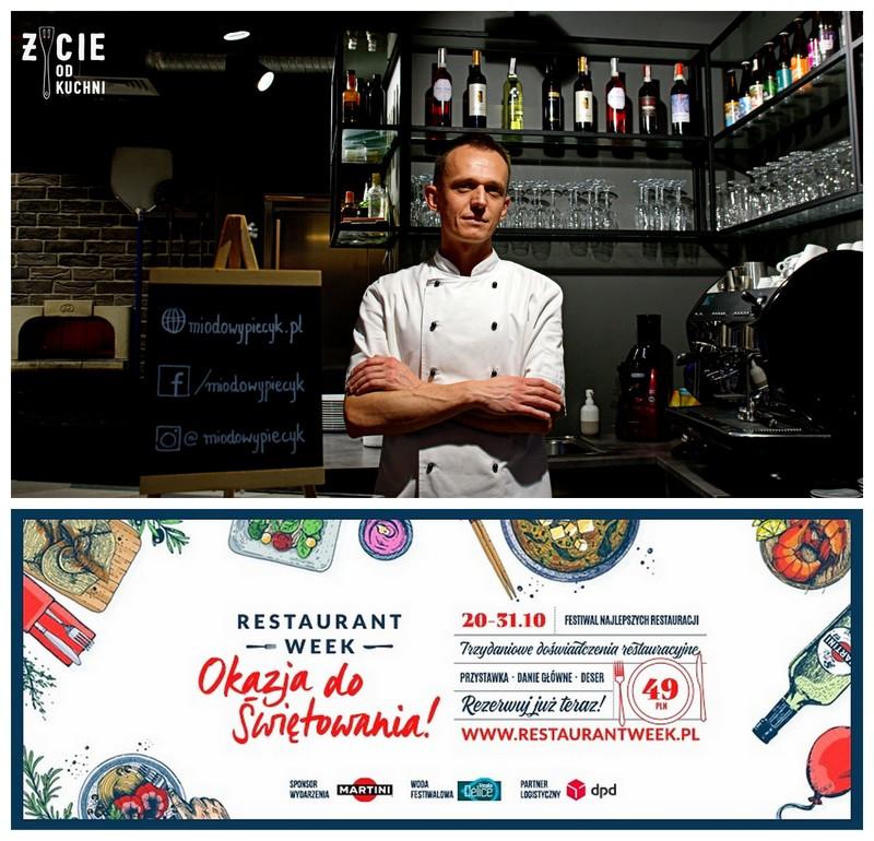 miodowy kacik, restaurant week polska, restaurant week, okazja do swietowania, janusz debinski, restauracja, restauracja w krakowie, pizza, pizza neapolitanska, pizzeria w krakowie, naklepsza pizzeria w krakowie, blog, zycie od kuchni