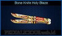 Bone Knife Holy Blaze