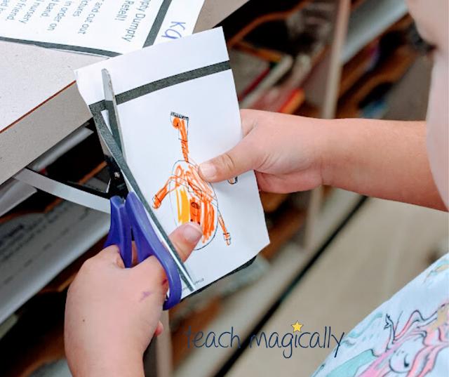 Cutting guide- teach magically