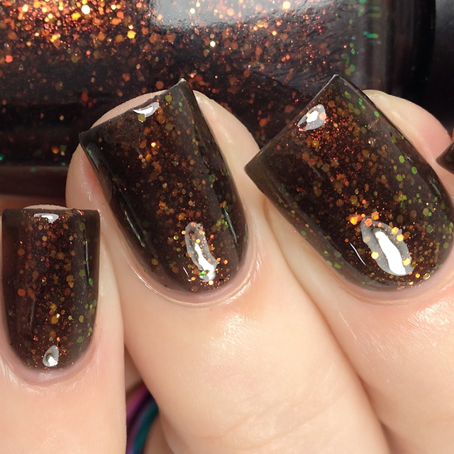 Poetry Cowgirl Nail Polish-Graveyard Dirt