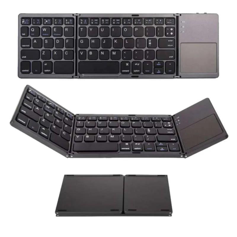 Erentech-Fordable Wireless Bluetooth Keyboard ,Keyboard Lipat B033