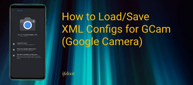 Cara Save dan Load File XML GCAM pada Smartphone Xiaomi Ranpa Root: Redmi Note 8/PRO