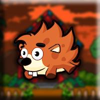 Crested Porcupine Escape