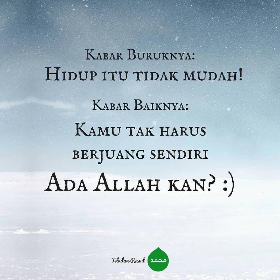 Kumpulan Kata Mutiara Islam Optimis Karena Ada Allah Rumah