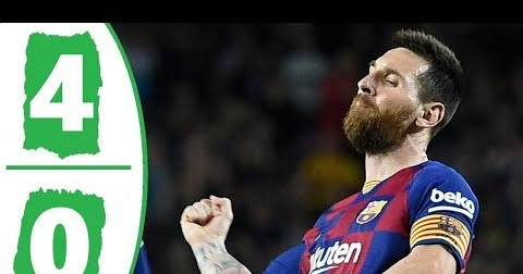 Gaols Highlight Mp4 Download Barcelona Vs Sevilla 4 0