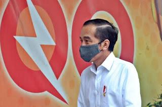 Presiden Joko Widodo Mengakui Pertumbuhan Ekonomi Indonesia Akan Minus