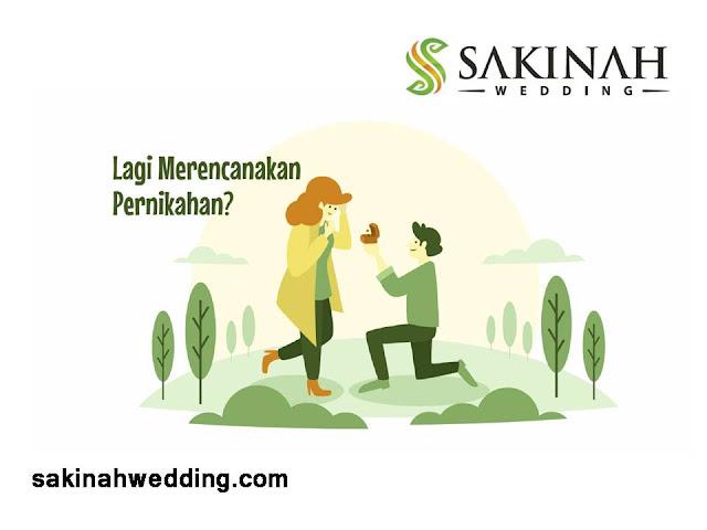 SAKINAH WEDDING, LENGKAP, TERJANGKAU, TERPERCAYA