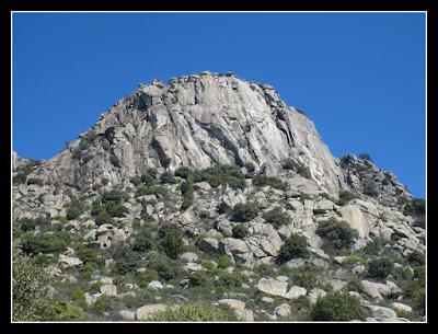 Pico de la Miel, La Cabrera, Madrid, escalada