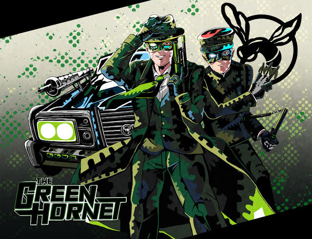 Happy 85th Anniversary, Green Hornet!