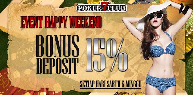 Bonus Deposit Poker7club