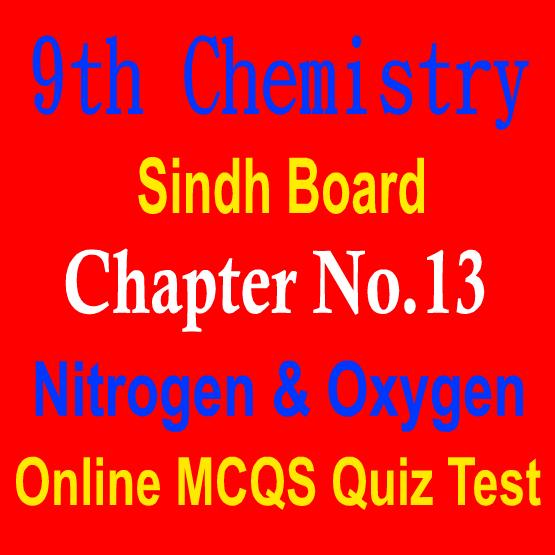 9th Chemistry MCQs