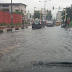 TERRIBLE FLOOD IN  AHMADU BELLO ROAD LOCATED IN LAGOS STATE IN NIGERIA