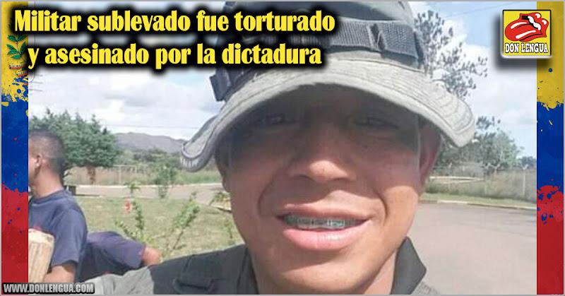 Militar sublevado fue torturado y asesinado por la dictadura