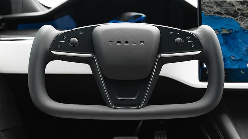 Elon Musk confirma que el nuevo Tesla Model S no tendrá una opción con volante normal