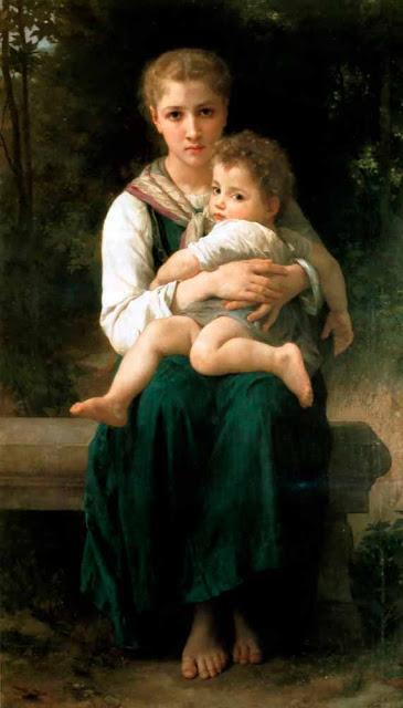 Адольф Вильям Бугро - Две сестры (1877)