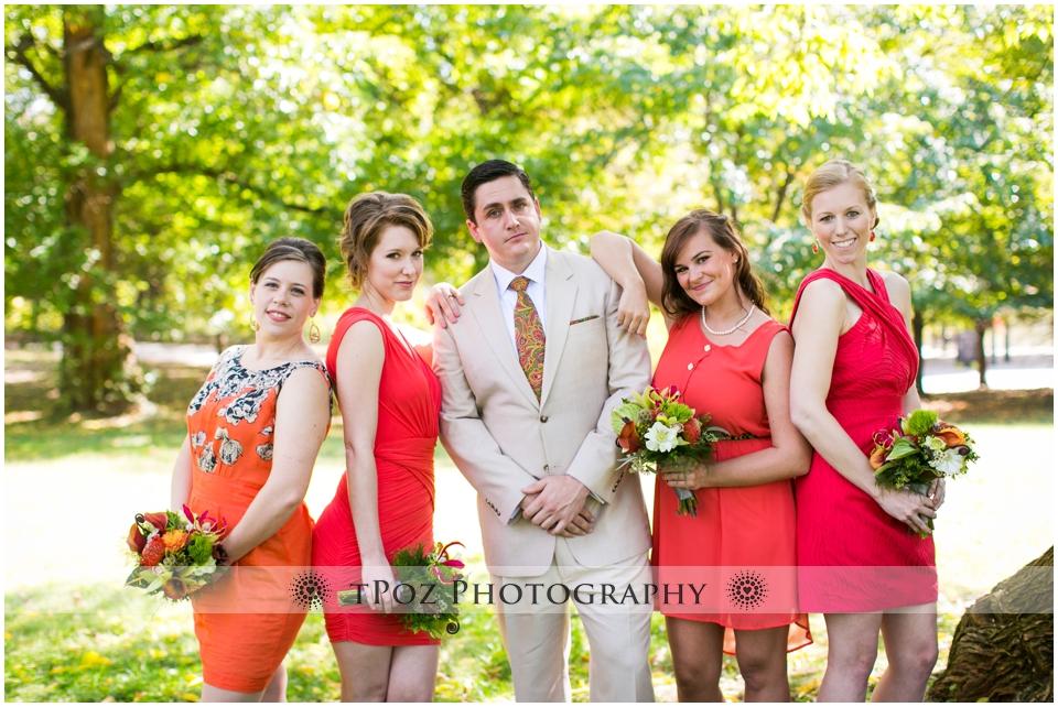 Maryland Zoo Wedding Baltimore bridesmaids