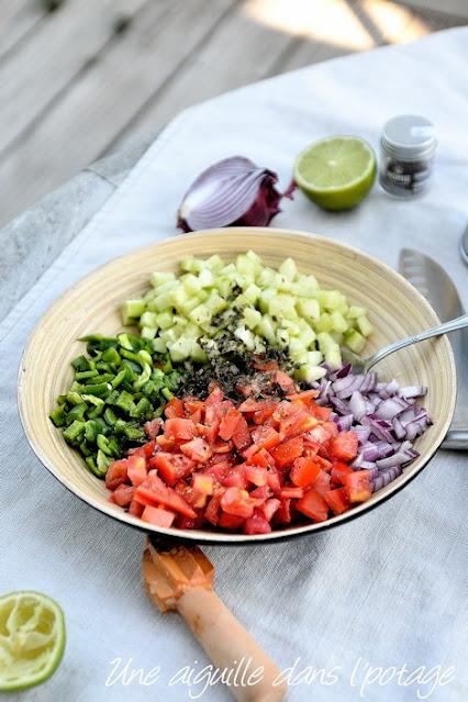 Salade-Shirazi -Iran-tomate-concombre-oignon-menthe