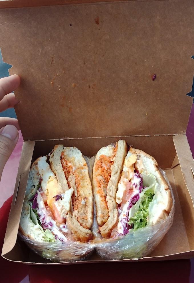 Wanpaku Burger Dari Dapur iLi Ready To Be COD Area Ecohill Semenyih