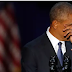 Ucapkan Terima Kasih kepada Sang Istri, Obama Menyeka Air Mata
