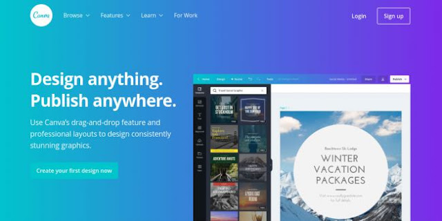 Canva-Web Design tools to streamline your workflow and  boost creativity-Hire A Virtual Assistant