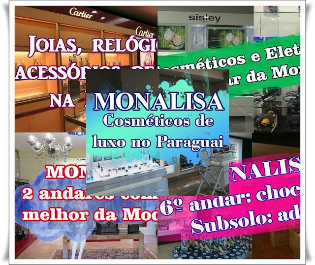 Todos os andares da loja Monalisa em vídeo