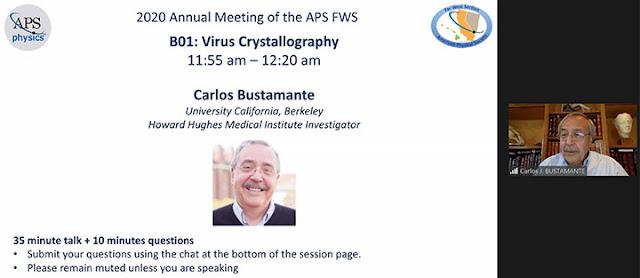 Molecular Motors Presentation (Source: Carlos Bustamante, UCB, at APS Far West 2020 meeting)