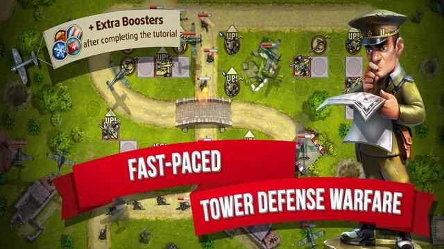 ألعاب برج الدفاع للايفون