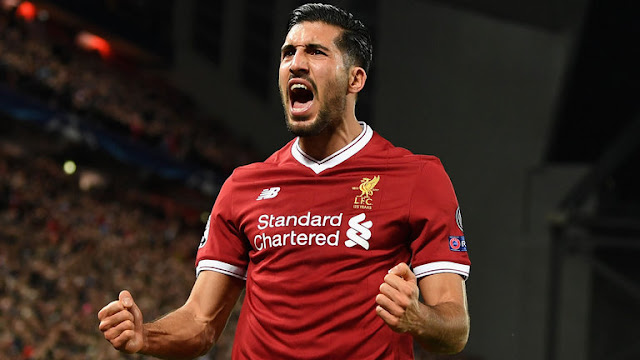 Emre Can Liverpool Player
