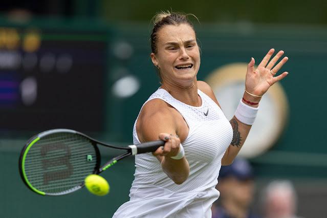 Aryna Sabalenka iguala sua melhor campanha em Grand Slams