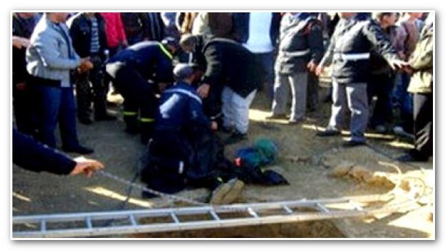 إصابة قائد وتخريب سيارة الدولة احتجاجا على مقتل شابة في بئر بكلميم