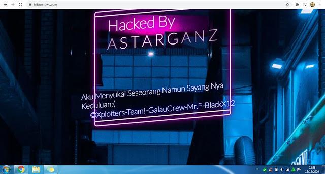 tribunnews.com Hacked By ASTARGANZ