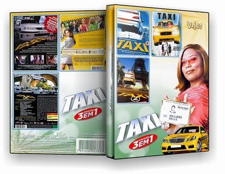 DVD Coleção Taxi 3 em 1 vol.01 - ISO