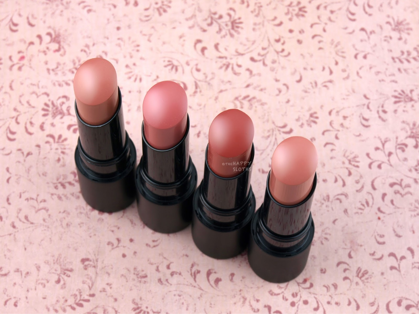 bareMinerals GEN NUDE Radiant Lipstick: Review and Swatches