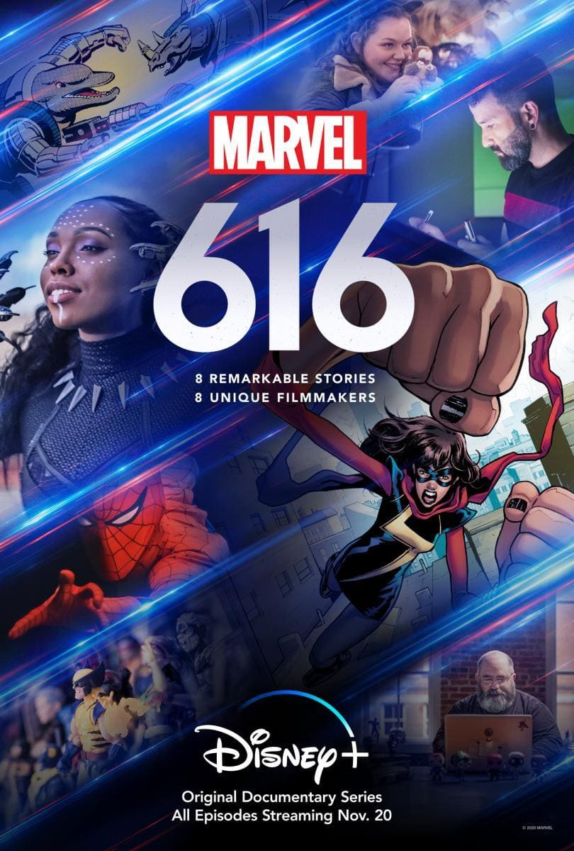 Marvel 616, de Disney Plus