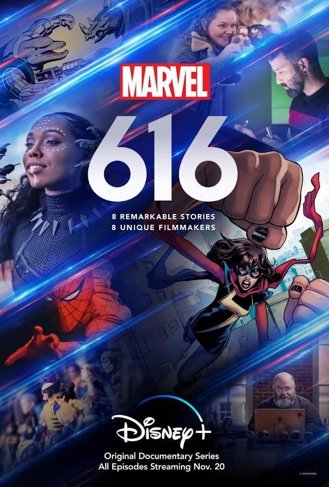 Marvel 616, análisis de la serie documental de Disney Plus