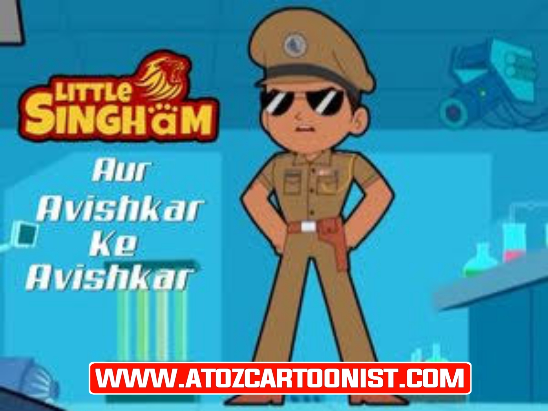 LITTLE SINGHAM : AUR AVISHKAR KE AVISHKAR FULL MOVIE IN HINDI DOWNLOAD IN [480P HALF HD]