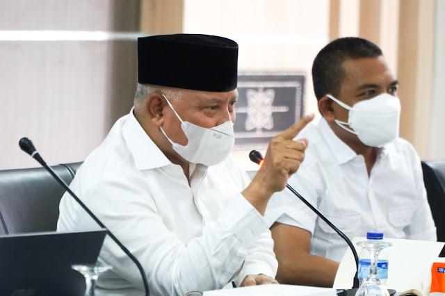 Suara lantang Sukiman untuk semua Kepala OPD Lombok Timur