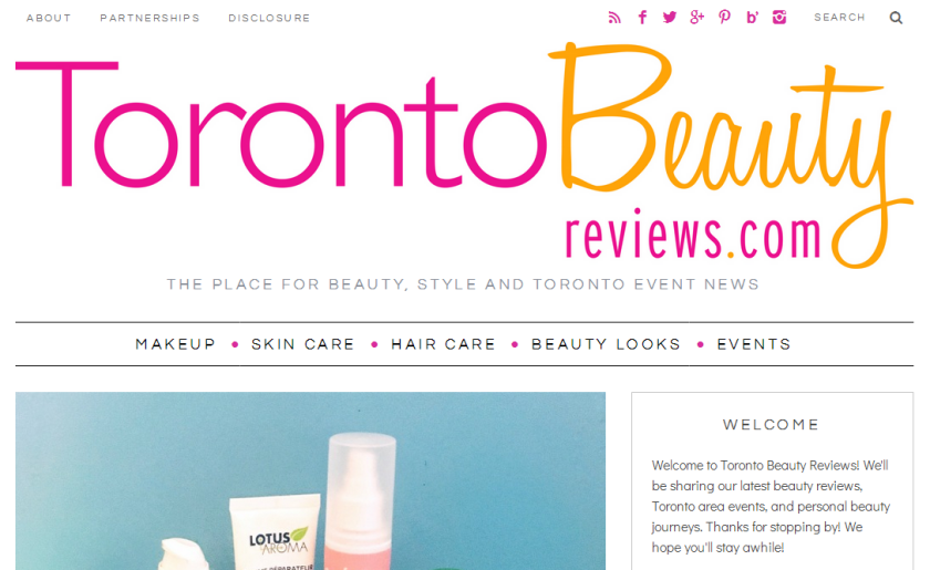 bbloggers, bbloggersca, canadian beauty bloggers, beauty blogger, toronto, toronto beauty reviews, featured blog, blog of the month